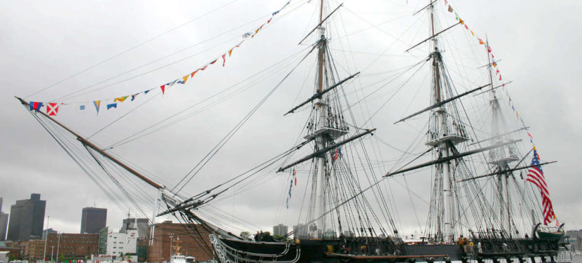 Le navire U.S.S. Constitution